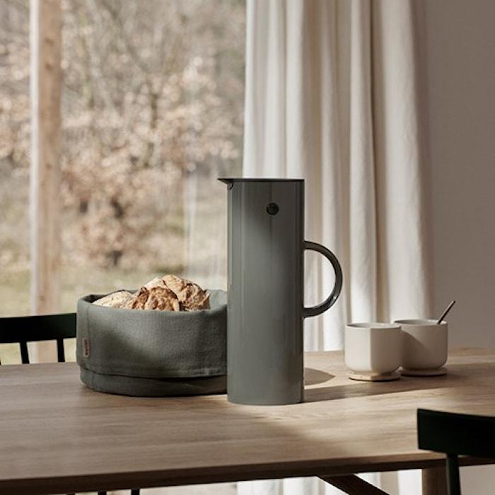 EM77 termoskanna 1L Granitgrå