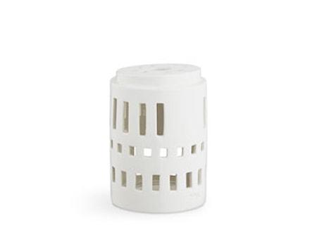 Ljuslykta Little Tower vit (18150)