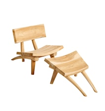 Dakota Chair and footstool set