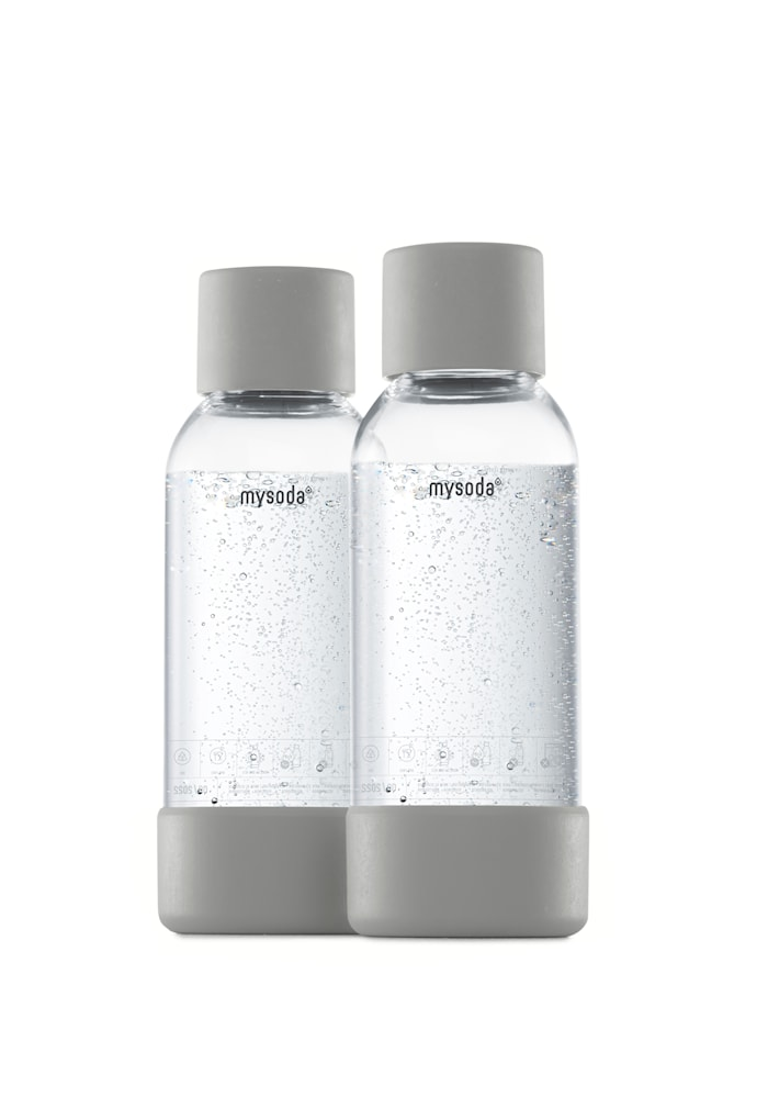0,5 L Flaske 2-pakning Grå
