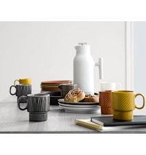 Accent Kaffekande Hvid m/stålindsats
