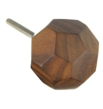 Knopp Ø 3,5 cm - Natur/trä