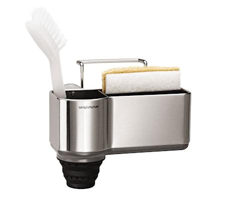 Holder til opvaskebørste og Svamp Børstet Stål