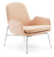 Era Lounge Chair Low - Chrome