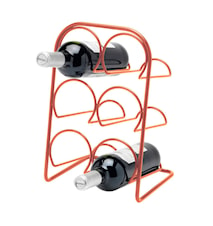 Pisa Wine Rack 6 Bottles Copper