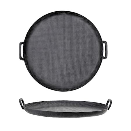 Tray, Black, Aluminum