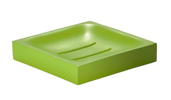 Tvålfat Fyrkantig Porslin Lime 10,5 cm