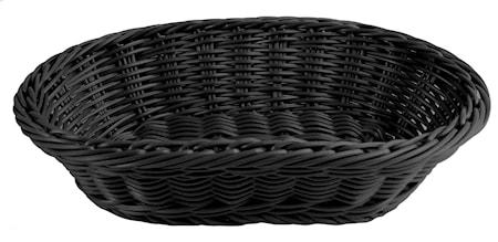 Leipäkori 29x18,5cm, musta