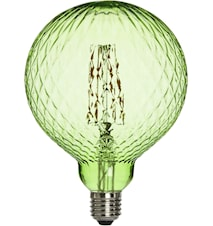 Elegance LED Cristal Cristal Green 125mm