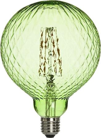 Elegance LED Cristal Cristal Green 125mm