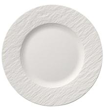 Assiette à salade Manufacture Rock blanc 22 cm