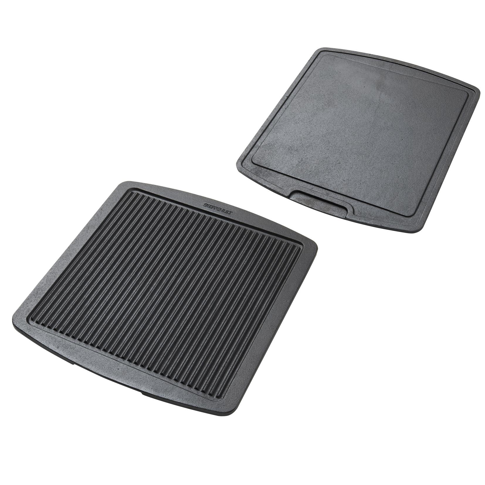 Grill & stekplatta vändbar 355×325 cm