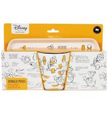 Disney Donald Duck Morgenmadssæt 28x19x9cm