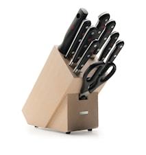 CLASSIC Knivblock Set 9 delar