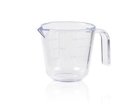 Målekande 0,1 l Transparent