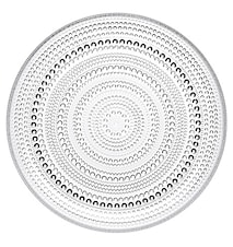Kastehelmi Plate 25cm Clear
