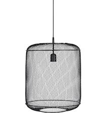Grid taglampe Sort 40cm