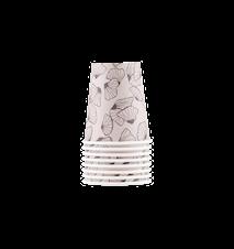 Pappersmugg Marecca 12 pack H: 9 cm