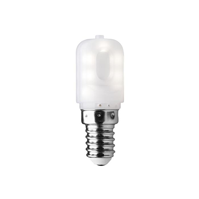 LED T22 Pære E14 2W Hvid