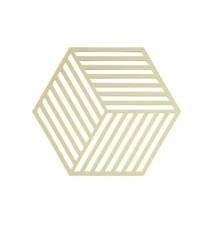 Hexagon Grytunderlägg Limone