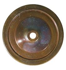 Maris swan væglampe - Antique brass