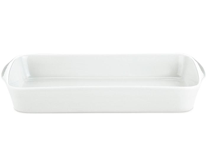 Stegefad nr. 3 hvid, 35x22 cm