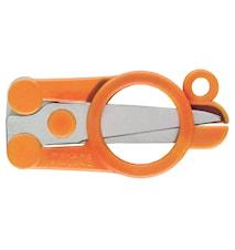 Classic Fällbar sax 10 cm Orange
