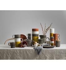Eggeholder / Lysholder Terracotta