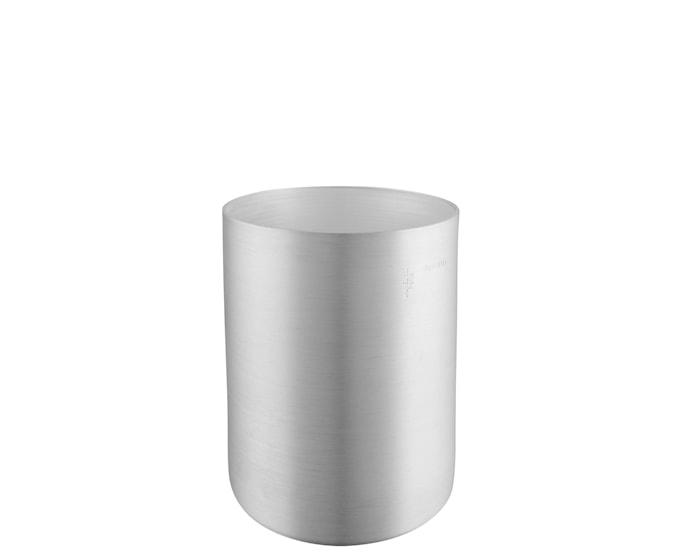 Redskapskrus Ø12cm borstad aluminium