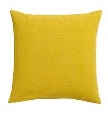 Tyynynpäällinen Divine 50x50cm - Keltainen