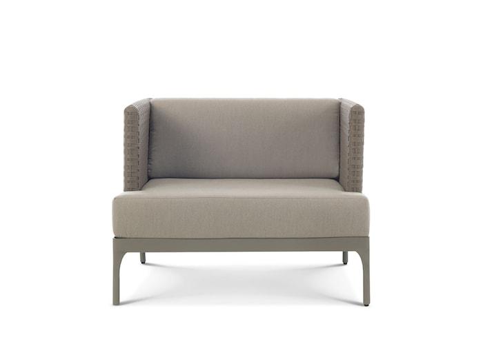 Infinity lounge grå fåtölj