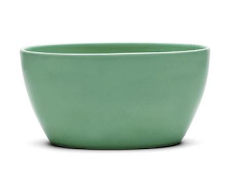 Ursula skål Lysegrøn H 10 cm