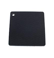 Grytelapp Silicon Fyrkant Antracitgrå