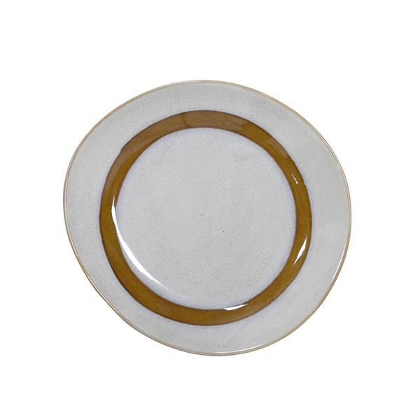 70's Keramik Assietter Vit