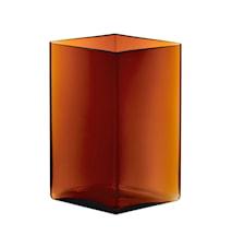 Ruutu Vase 20,5x27cm Kupfer