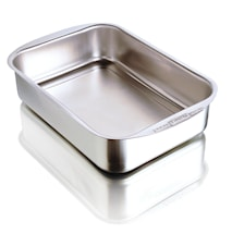 Oven Dish Stainless Steel 25 cm