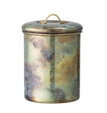 Krukke m/låg Multicolor Rustfrit Stål