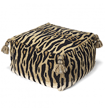 Sittpuff Tiger Natur 55x55 cm
