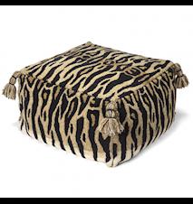 Siddehynde Tiger Natur 55x55 cm