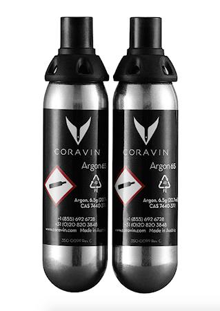 Gaskapslar till Coravin 2p
