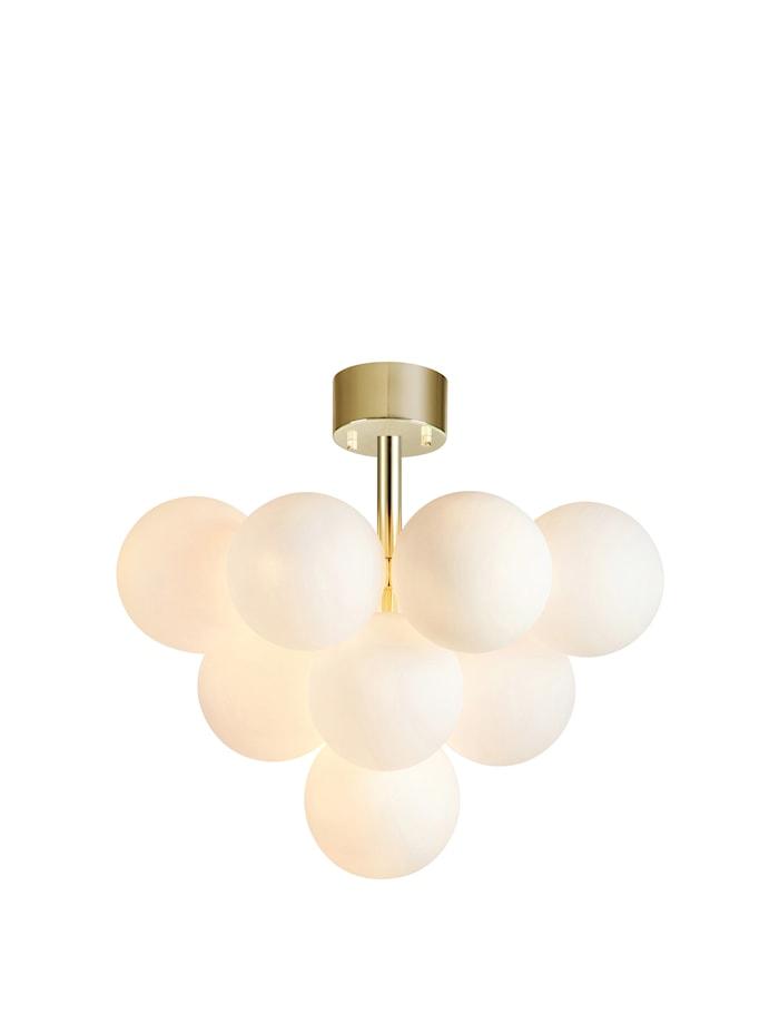 Merlot Plafond Messing/Hvid 13 L