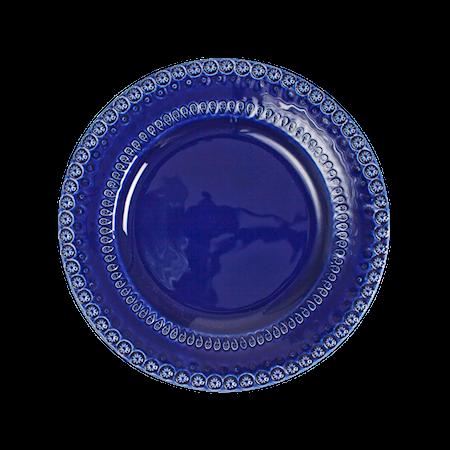 DAISY Desserttallrik Mörkblå 22 cm