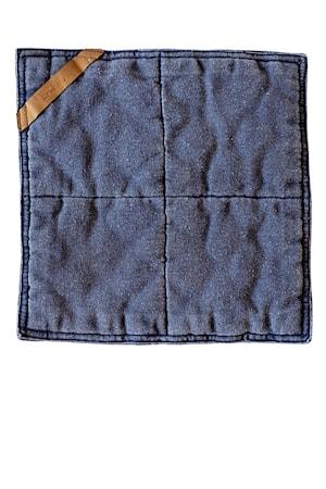 Grydelap , 25x25 cm, blå
