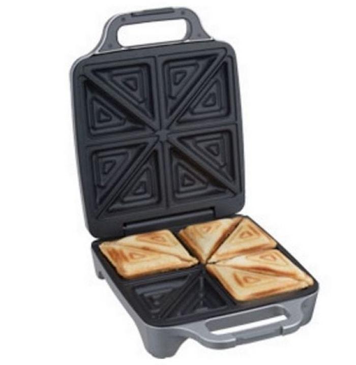 Sandwich Toaster XXL för 4 Smörgåsar