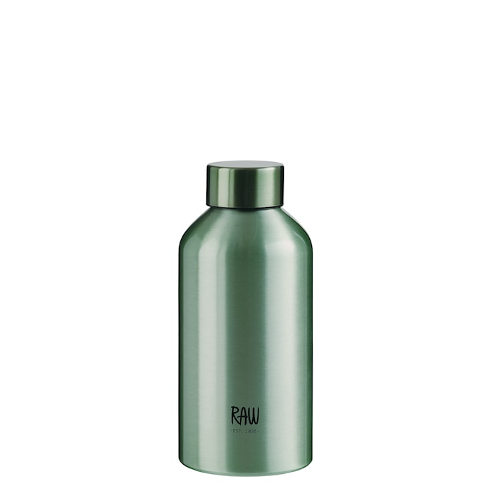 Raw To Go Flaska Aluminium Green 0,5 L