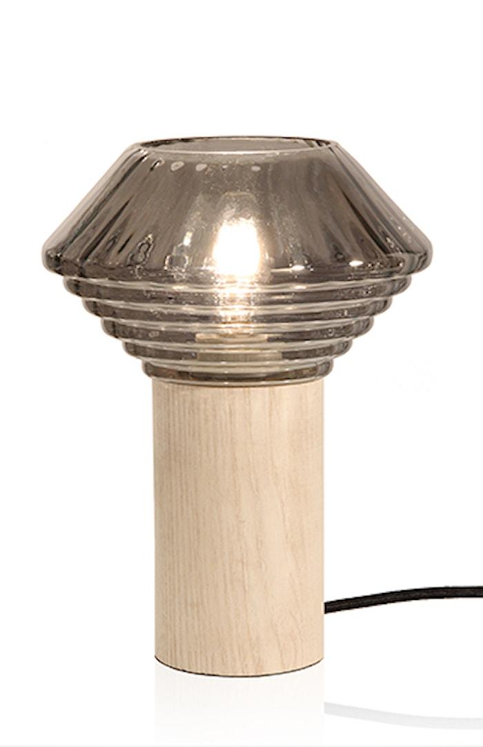 Bordslampa Edge Rök