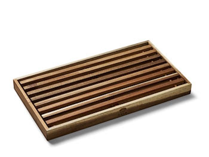 Tabla de cortar recogedor de migas 43x23 cm