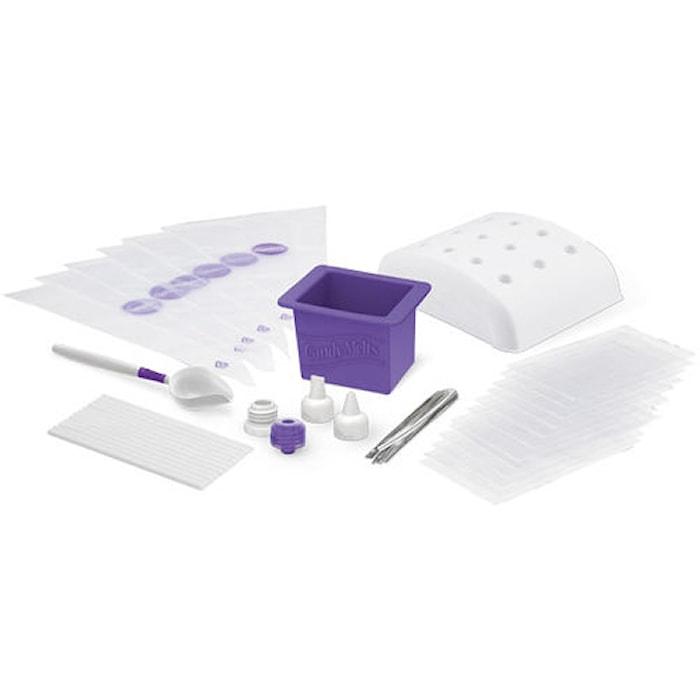 Candy Melts Werkzeugset Dip-N-Dec Weiß/Lila