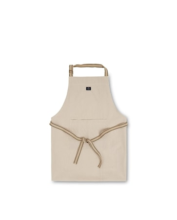 Icons Cotton Canvas Apron Förkläde Beige 80x105cm
