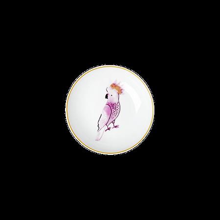 Cockatoo print Dippskål 12 cm Porslin